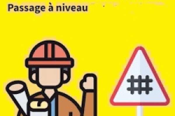 Travaux Ligne des Horlogers- Fermeture du passage à niveau Pont de la Roche déviation par Montlebon