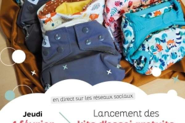 Couches lavables gratuites par Préval