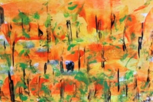 EXPOSITION de peinture à la cire « encaustique »