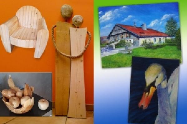 Exposition de peintures et sculptures Irina et Jean-Marie Côte